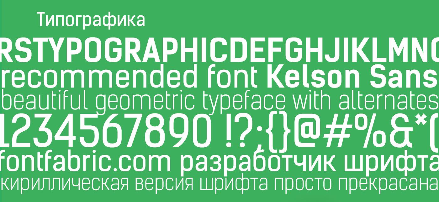 шрифты фирменного стиля